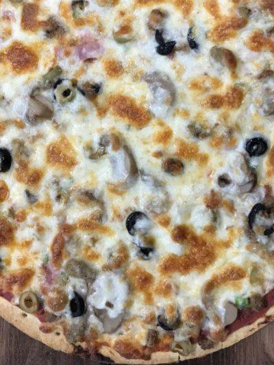 Big Time Meals | Garlic Beef Alfredo Pizza